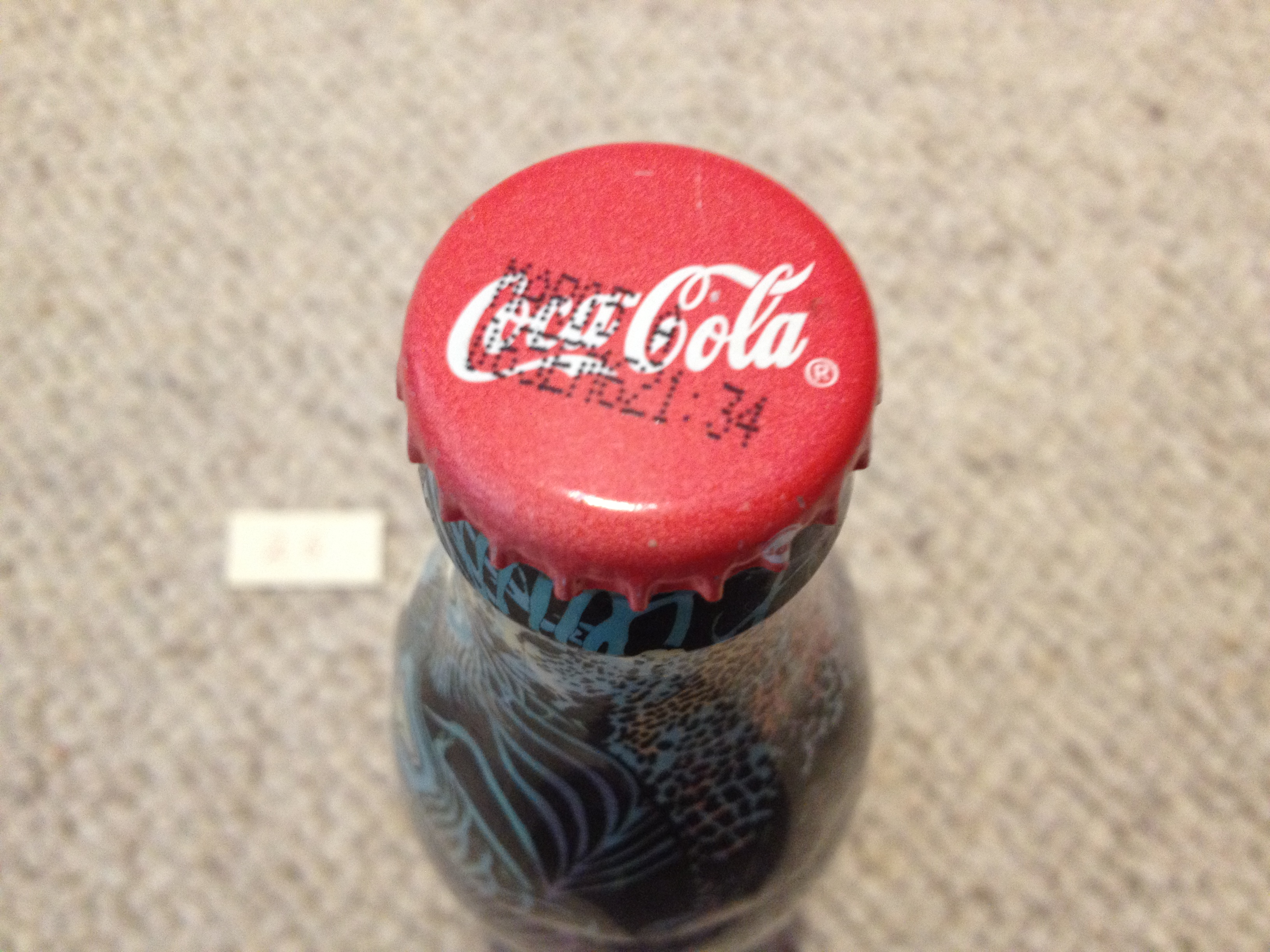 MATTHEW WILLIAMSON Coca Cola bottle (un-open) Unique Very Collectable/2